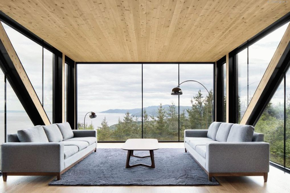 house with panoramic windows