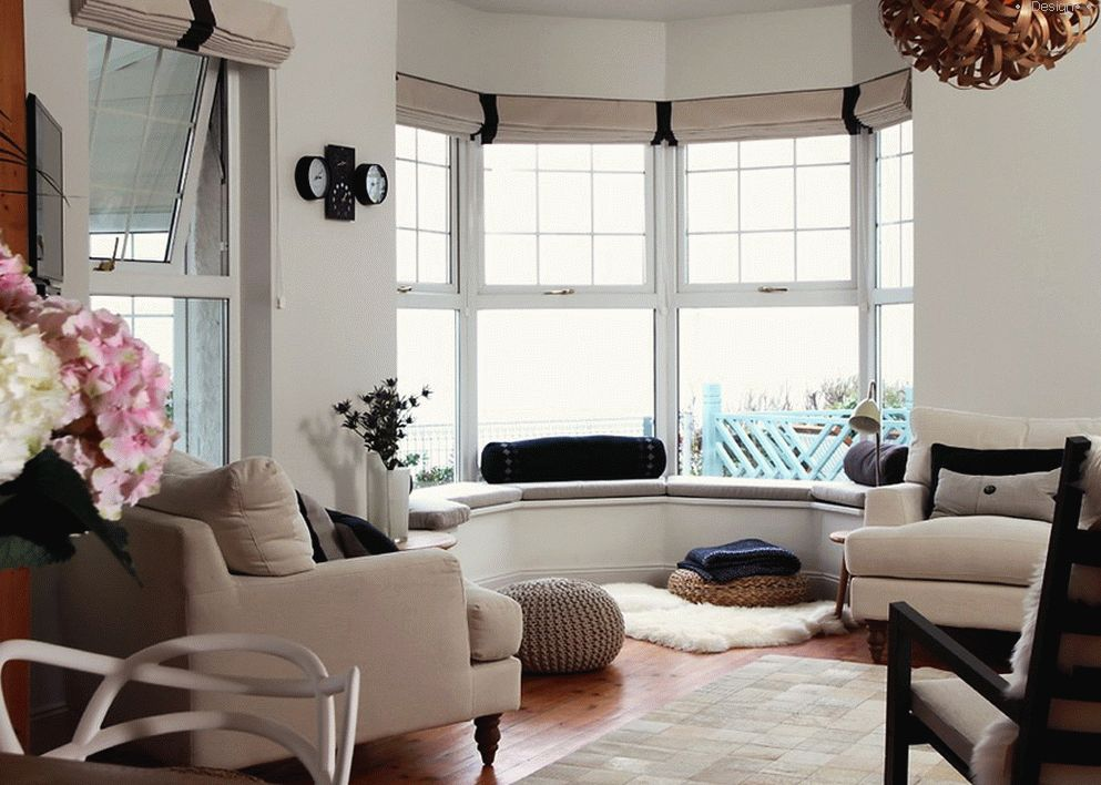 living room design photo