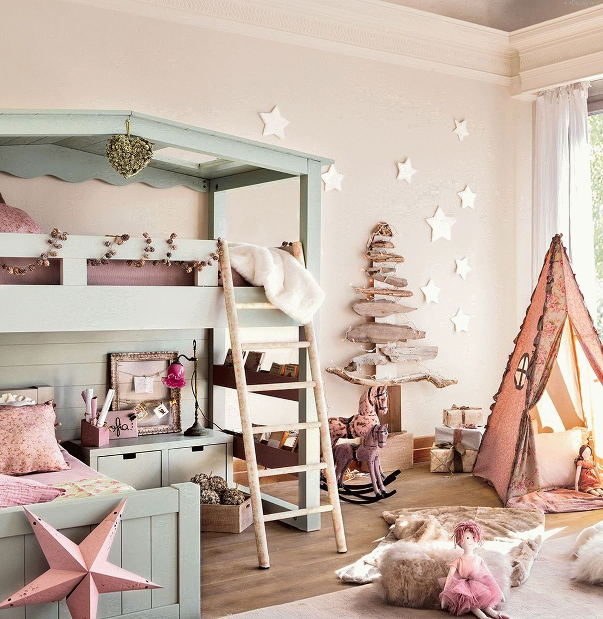 Sunday: 23 magical children's rooms