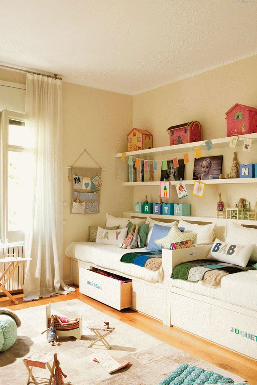 children's rooms for two