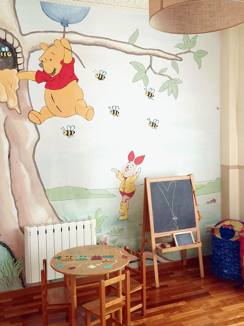 decor of a children's room