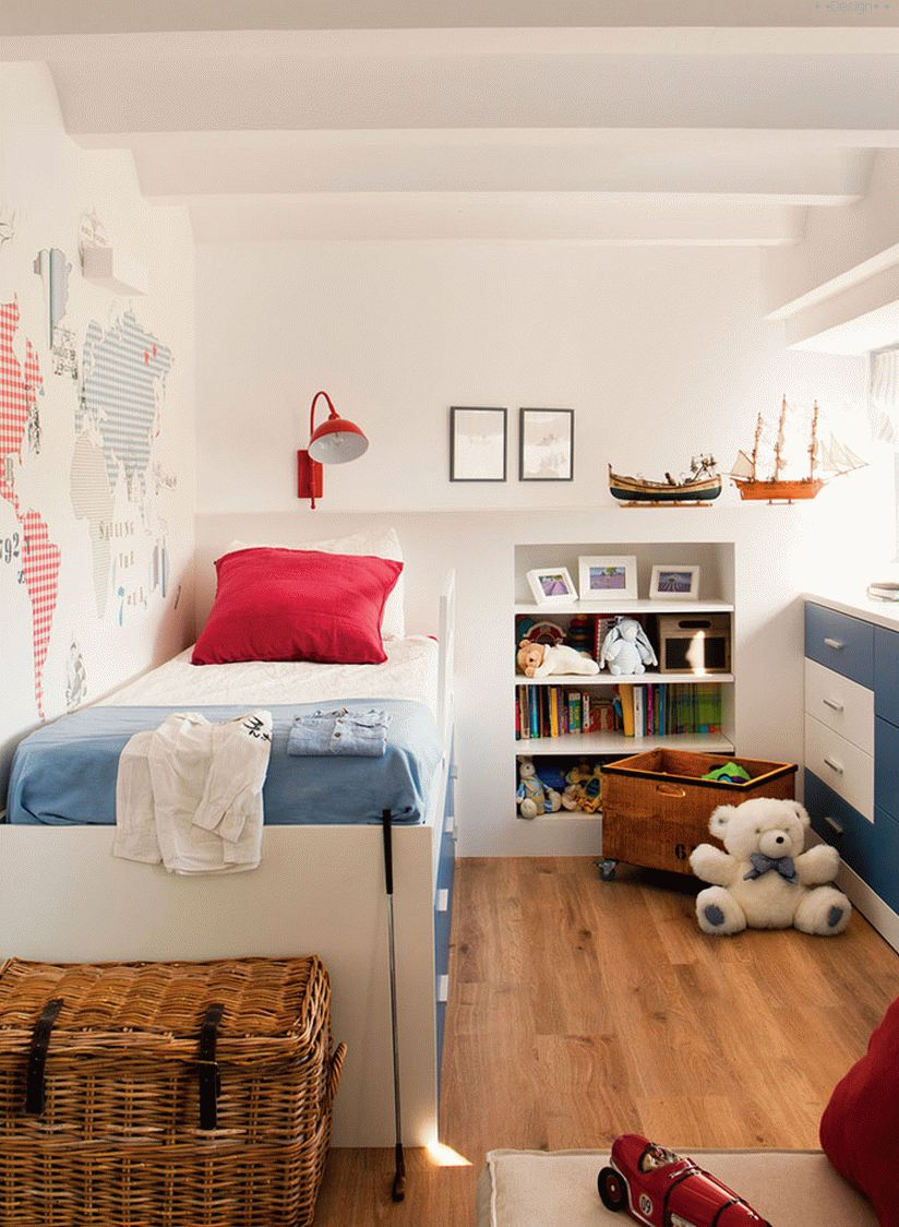design of a nursery for a boy
