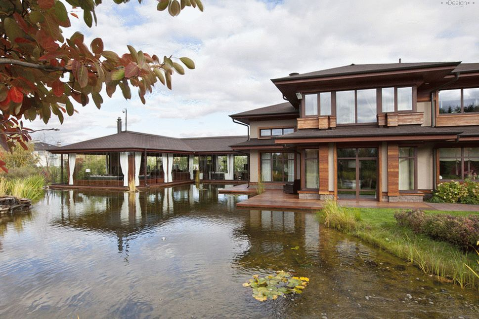 Beautiful AMG Project Pond Country House