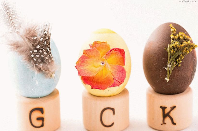 easter eggs decor