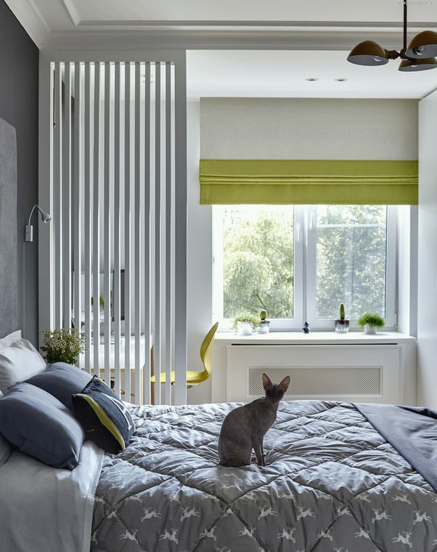 Scandinavian style bedroom
