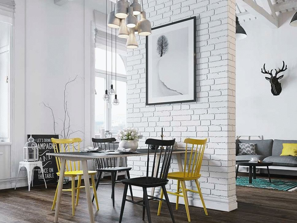 Scandinavian style of interior